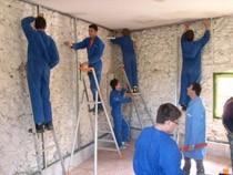 ремонт стен помещений Вологда